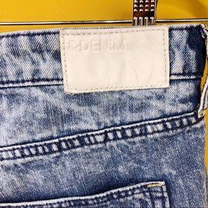 H&M Shorts - H &M & DENIM Distressed Denim Jeans Shorts Size 10